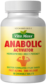 anabolic activator - tr fast acting - 90 chewable tablets