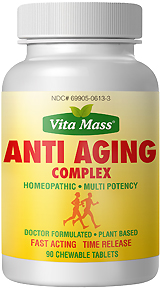 anti aging complex - tr fast acting - 90 chewable tablets