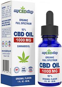 cbd oil - 1000mg 10% - 1oz - 30ml - full spectrum