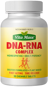 dna rna complex - tr fast acting - 90 chewable tablets