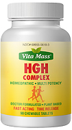 HGH Complex - TR Fast Acting - 90 Chewable Tablets