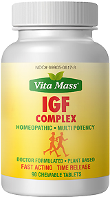 igf complex - tr fast acting - 90 chewable tablets