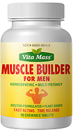 Muscle Builder - TR Fast Acting - 90 Chewable Tablets