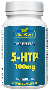 5-HTP 100 mg - TR Time Release - 150 Tablets